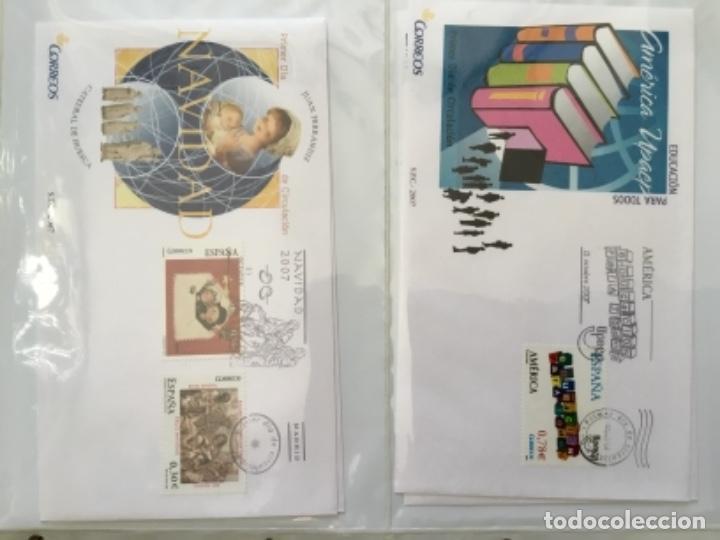 Sellos: España 2007 - Colección Sobres primer día 2007 - Foto 25 - 152373154