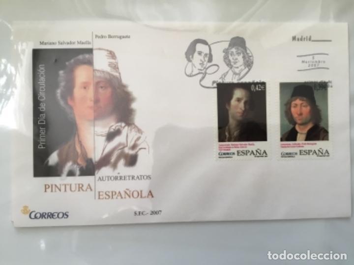 Sellos: España 2007 - Colección Sobres primer día 2007 - Foto 28 - 152373154