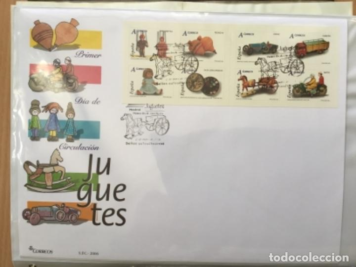 ESPAÑA 2006 - COLECCIÓN SOBRES PRIMER DÍA 2006 (Sellos - España - Juan Carlos I - Desde 2.000 - Cartas)