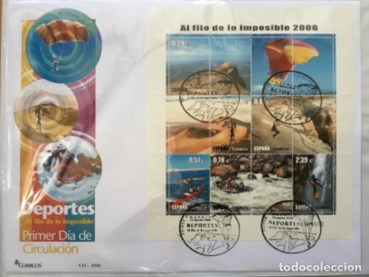 Sellos: España 2006 - Colección Sobres primer día 2006 - Foto 8 - 152373458