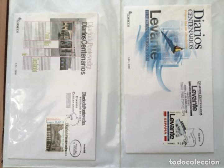 Sellos: España 2006 - Colección Sobres primer día 2006 - Foto 13 - 152373458