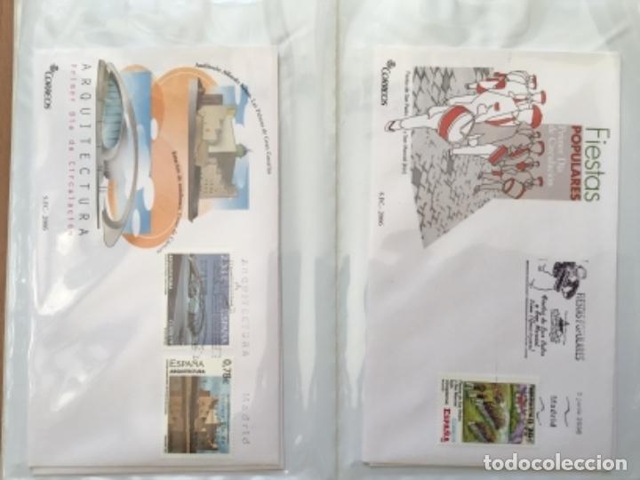 Sellos: España 2006 - Colección Sobres primer día 2006 - Foto 19 - 152373458