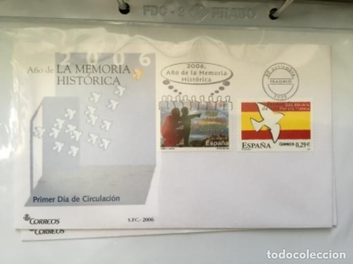 Sellos: España 2006 - Colección Sobres primer día 2006 - Foto 42 - 152373458