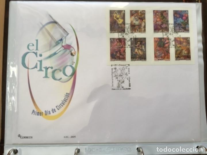 ESPAÑA 2005 - COLECCIÓN SOBRES PRIMER DÍA 2005 SPD 2005 (Sellos - España - Juan Carlos I - Desde 2.000 - Cartas)