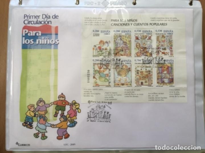 Sellos: España 2005 - Colección Sobres primer día 2005 - Foto 2 - 152373698