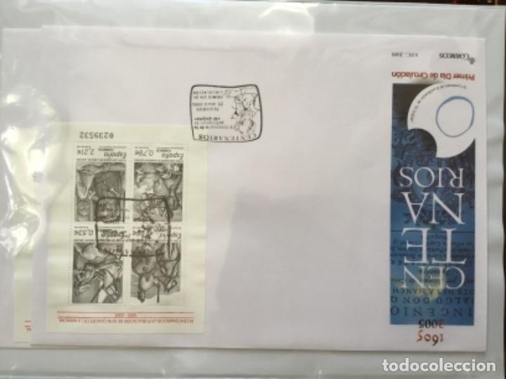 Sellos: España 2005 - Colección Sobres primer día 2005 SPD 2005 - Foto 3 - 152373698