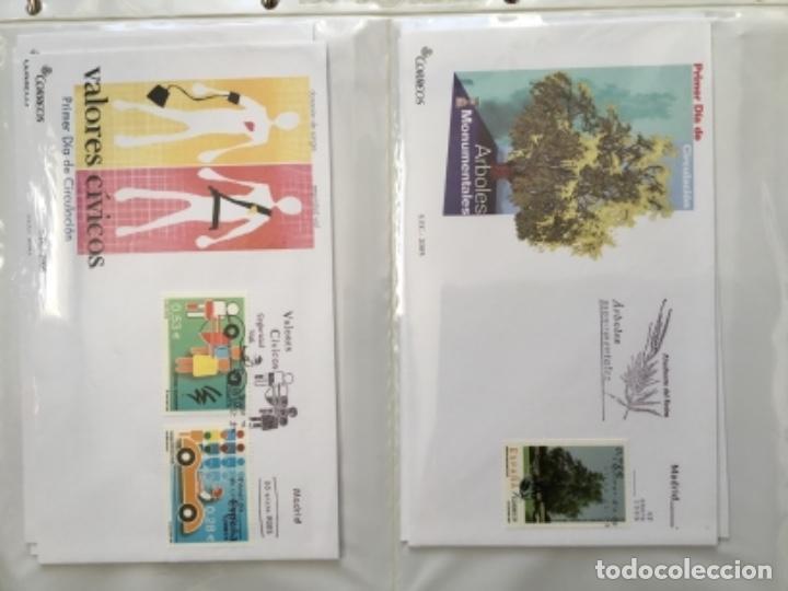 Sellos: España 2005 - Colección Sobres primer día 2005 SPD 2005 - Foto 6 - 152373698