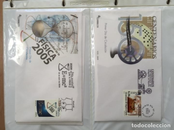 Sellos: España 2005 - Colección Sobres primer día 2005 - Foto 12 - 152373698