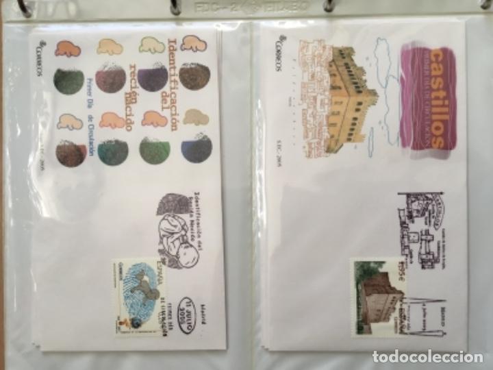 Sellos: España 2005 - Colección Sobres primer día 2005 - Foto 16 - 152373698