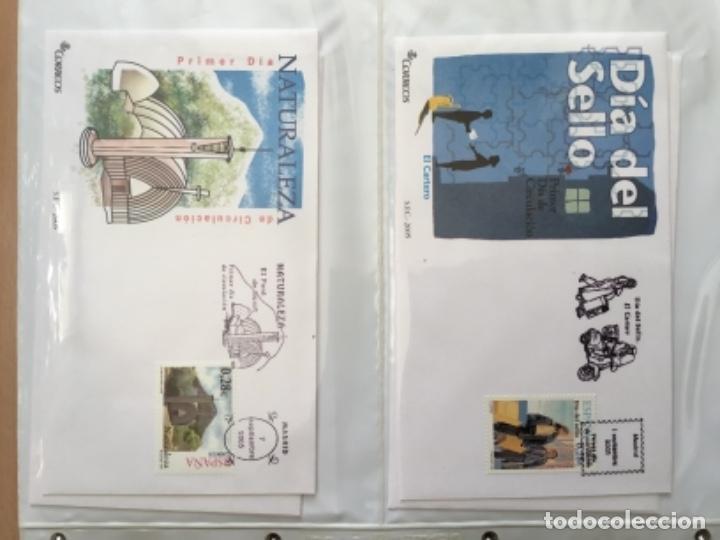 Sellos: España 2005 - Colección Sobres primer día 2005 - Foto 17 - 152373698
