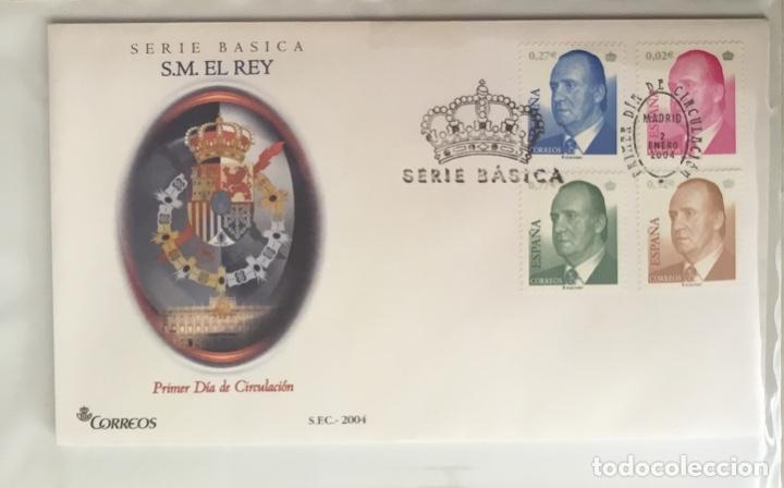 ESPAÑA 2004 - COLECCIÓN SOBRES PRIMER DÍA 2004 - EDIFIL (Sellos - España - Juan Carlos I - Desde 2.000 - Cartas)