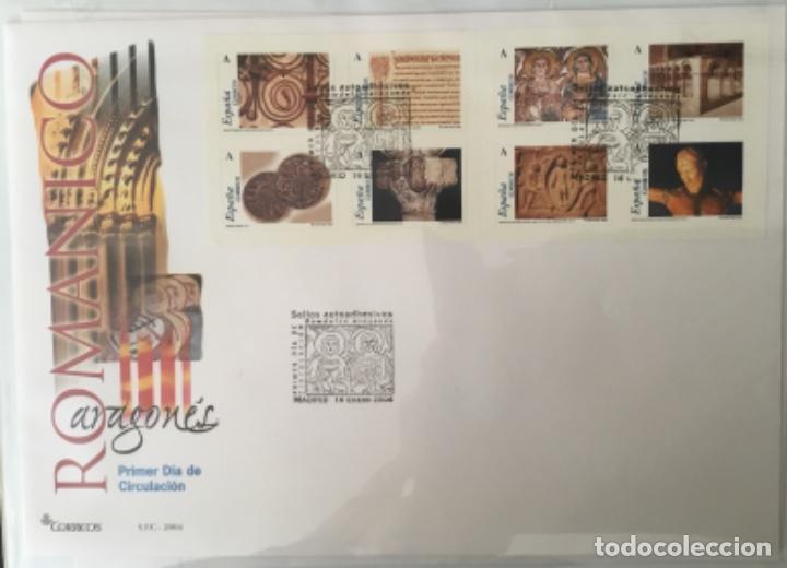 Sellos: España 2004 - Colección Sobres primer día 2004 - Edifil - Foto 2 - 152373950