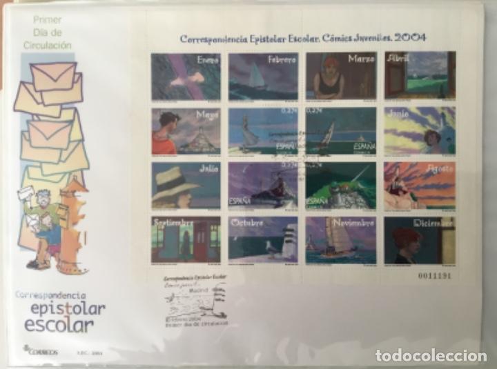 Sellos: España 2004 - Colección Sobres primer día 2004 - Edifil - Foto 5 - 152373950