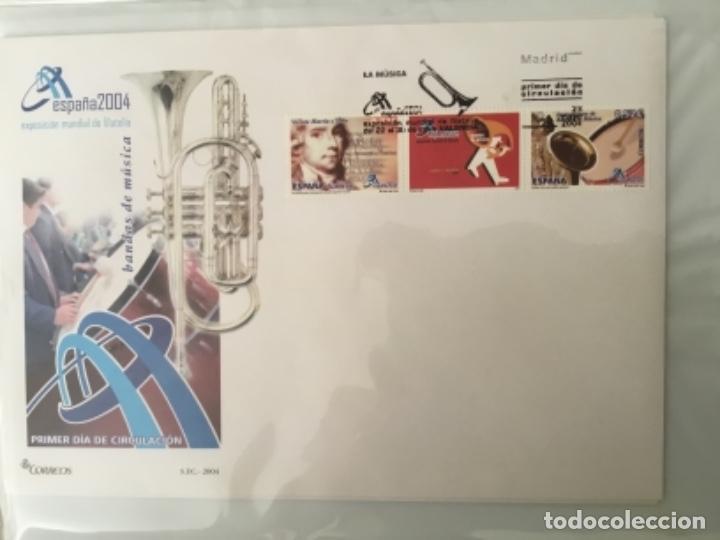 Sellos: España 2004 - Colección Sobres primer día 2004 - Edifil - Foto 10 - 152373950
