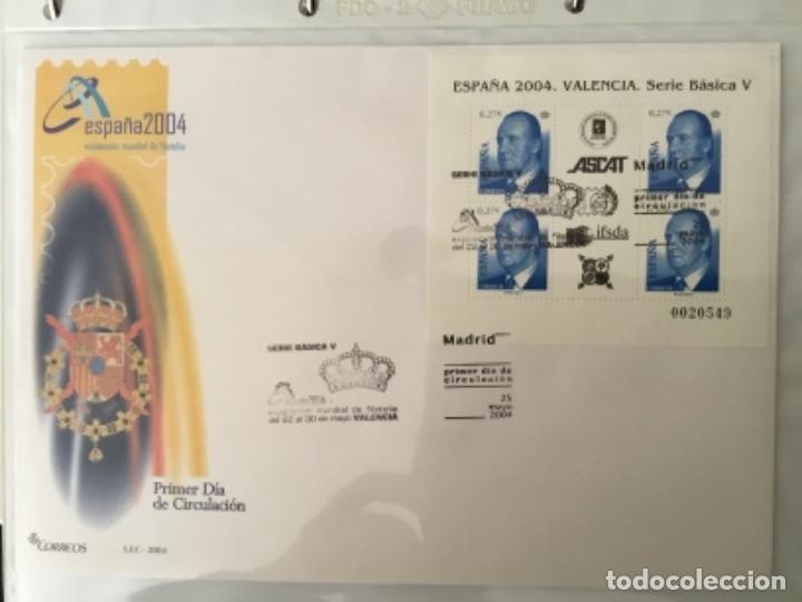 Sellos: España 2004 - Colección Sobres primer día 2004 - Edifil - Foto 12 - 152373950