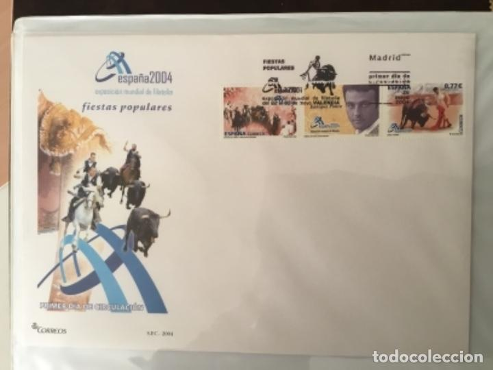 Sellos: España 2004 - Colección Sobres primer día 2004 - Edifil - Foto 13 - 152373950