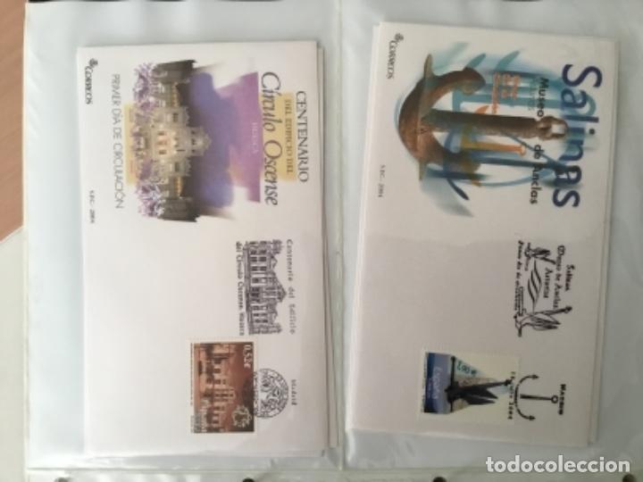 Sellos: España 2004 - Colección Sobres primer día 2004 - Edifil - Foto 17 - 152373950