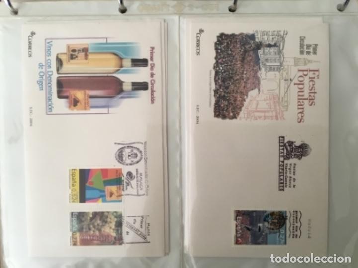Sellos: España 2004 - Colección Sobres primer día 2004 - Edifil - Foto 19 - 152373950