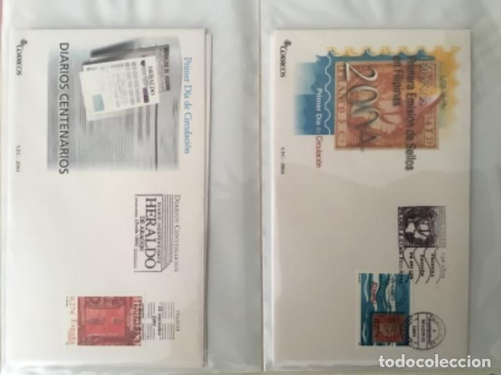 Sellos: España 2004 - Colección Sobres primer día 2004 - Edifil - Foto 20 - 152373950