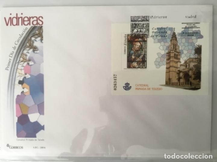 Sellos: España 2004 - Colección Sobres primer día 2004 - Edifil - Foto 22 - 152373950