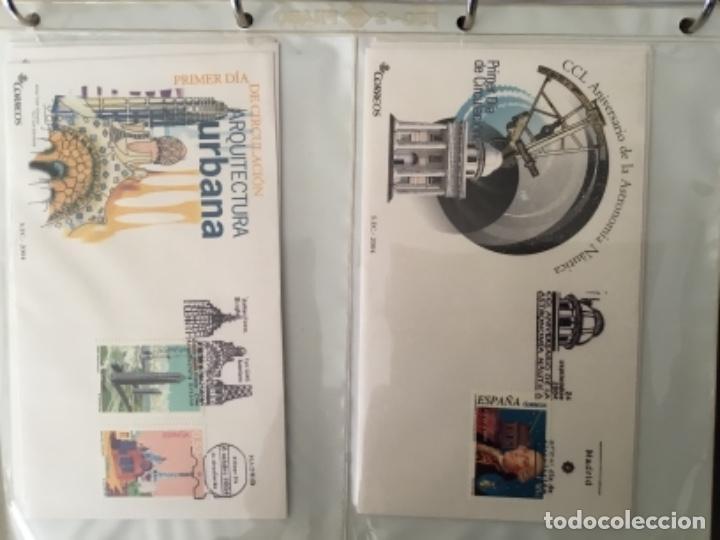 Sellos: España 2004 - Colección Sobres primer día 2004 - Edifil - Foto 23 - 152373950