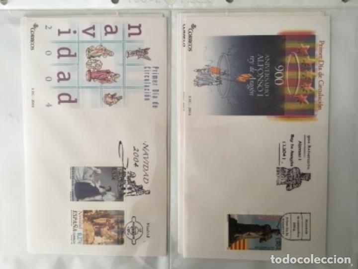 Sellos: España 2004 - Colección Sobres primer día 2004 - Edifil - Foto 27 - 152373950