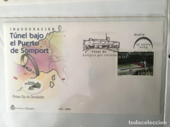 ESPAÑA 2003 - COLECCIÓN SOBRES PRIMER DÍA 2003 SPD 2003 (Sellos - España - Juan Carlos I - Desde 2.000 - Cartas)