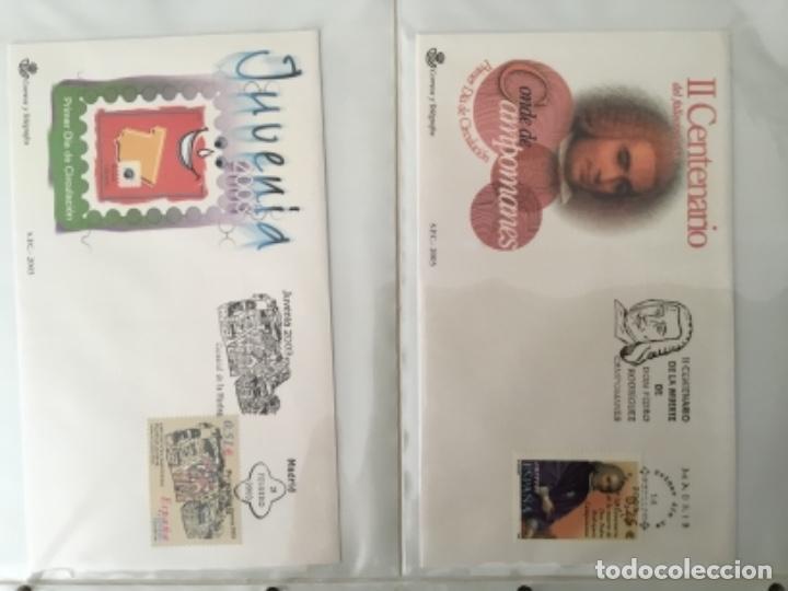 Sellos: España 2003 - Colección Sobres primer día 2003 SPD 2003 - Foto 3 - 152374050