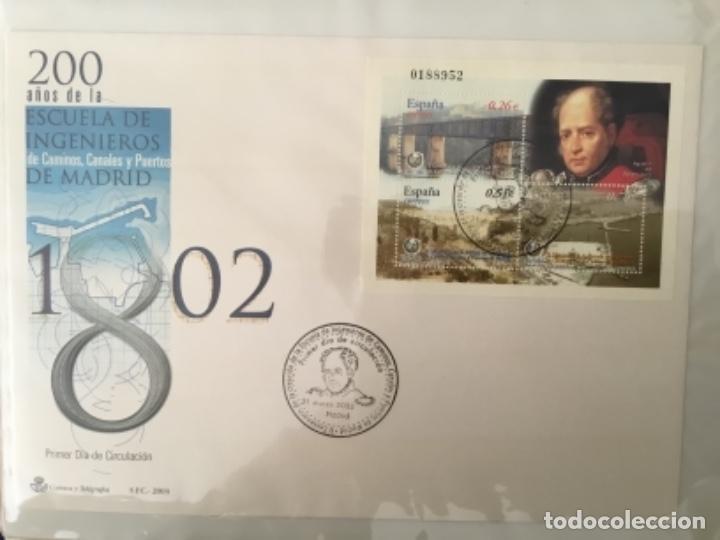 Sellos: España 2003 - Colección Sobres primer día 2003 SPD 2003 - Foto 6 - 152374050