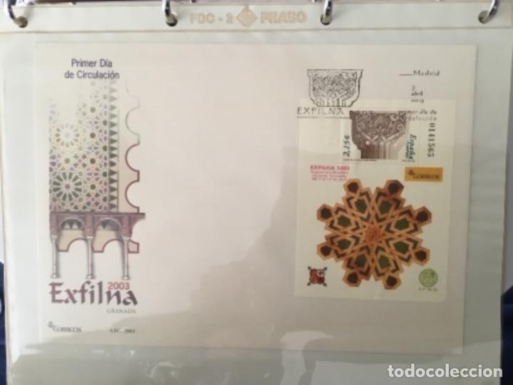 Sellos: España 2003 - Colección Sobres primer día 2003 SPD 2003 - Foto 10 - 152374050