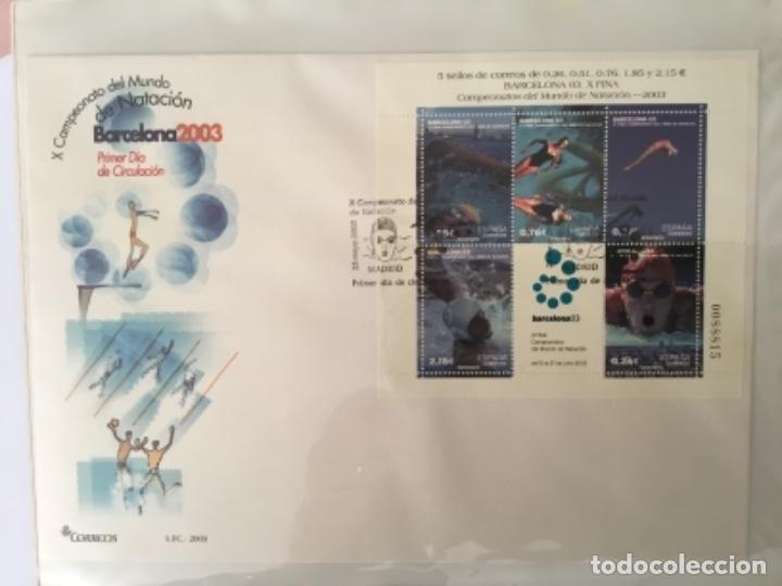 Sellos: España 2003 - Colección Sobres primer día 2003 SPD 2003 - Foto 11 - 152374050