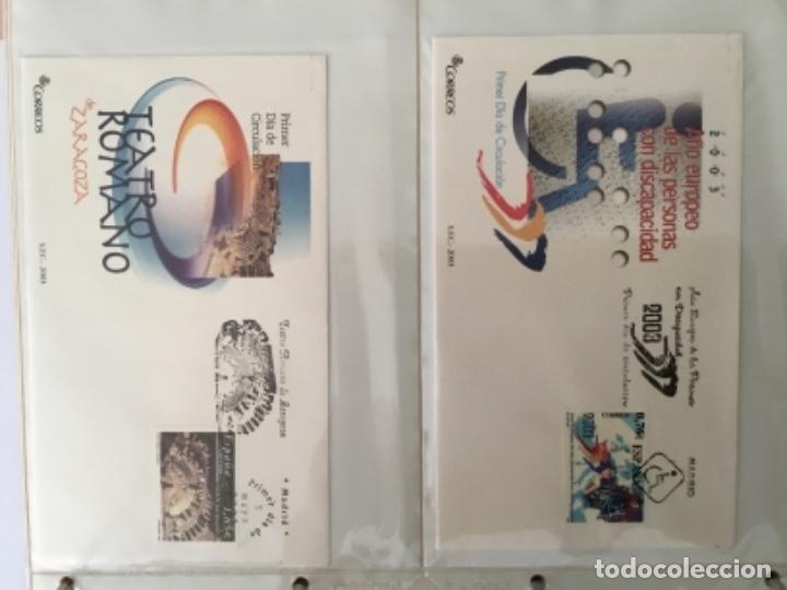 Sellos: España 2003 - Colección Sobres primer día 2003 SPD 2003 - Foto 13 - 152374050