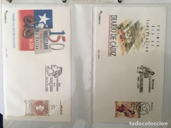 Sellos: España 2003 - Colección Sobres primer día 2003 SPD 2003 - Foto 18 - 152374050