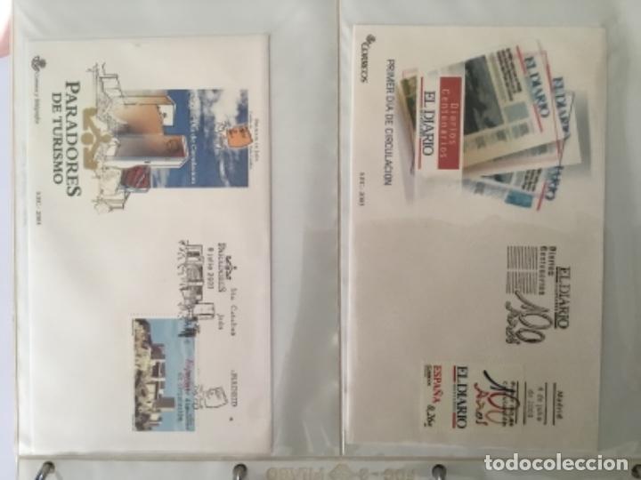 Sellos: España 2003 - Colección Sobres primer día 2003 SPD 2003 - Foto 19 - 152374050