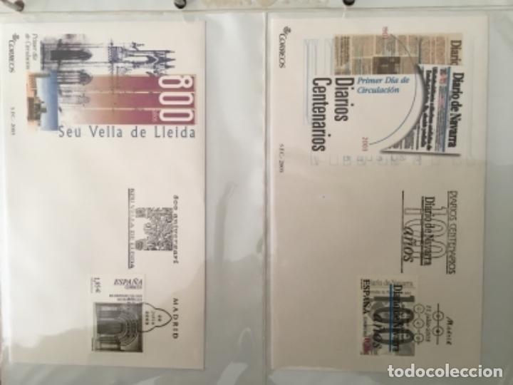 Sellos: España 2003 - Colección Sobres primer día 2003 SPD 2003 - Foto 20 - 152374050