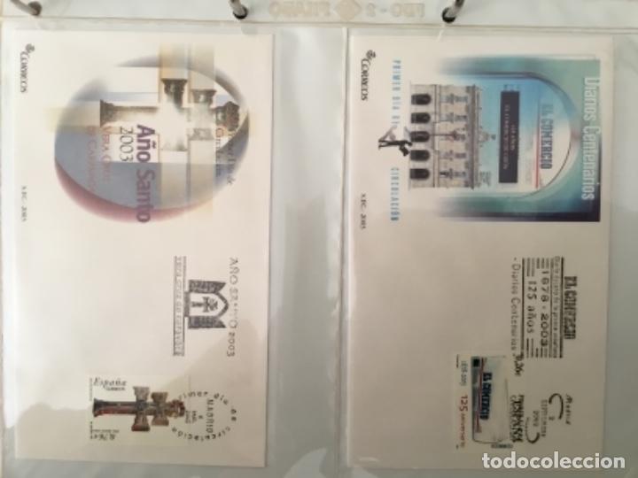 Sellos: España 2003 - Colección Sobres primer día 2003 SPD 2003 - Foto 22 - 152374050
