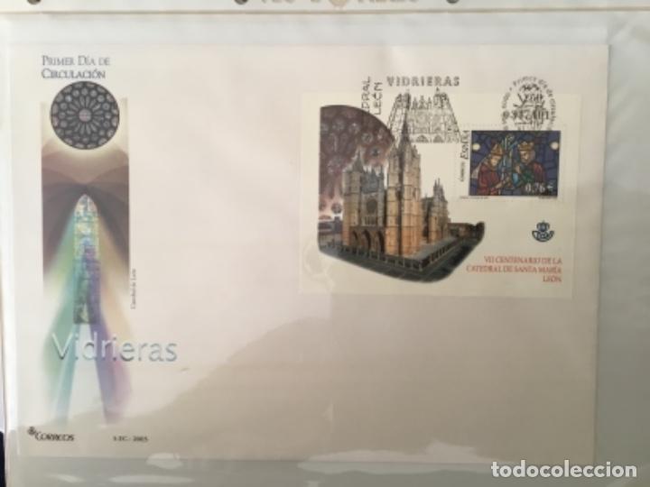 Sellos: España 2003 - Colección Sobres primer día 2003 SPD 2003 - Foto 26 - 152374050