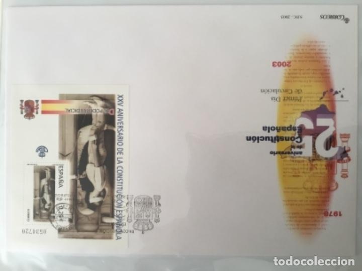 Sellos: España 2003 - Colección Sobres primer día 2003 SPD 2003 - Foto 39 - 152374050