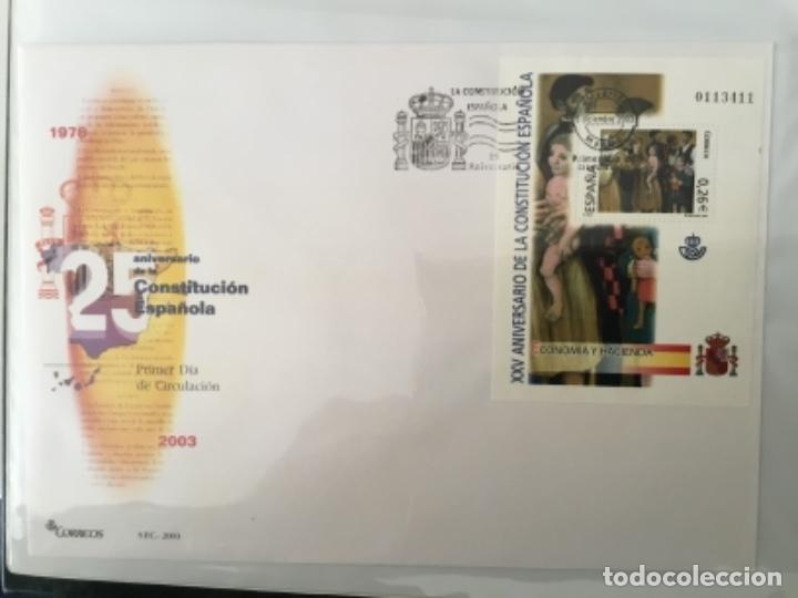 Sellos: España 2003 - Colección Sobres primer día 2003 SPD 2003 - Foto 40 - 152374050