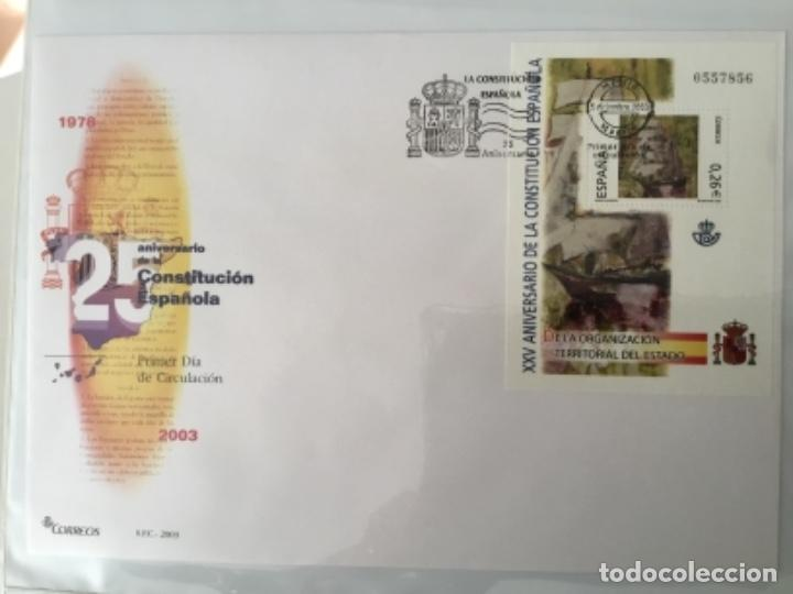 Sellos: España 2003 - Colección Sobres primer día 2003 SPD 2003 - Foto 41 - 152374050