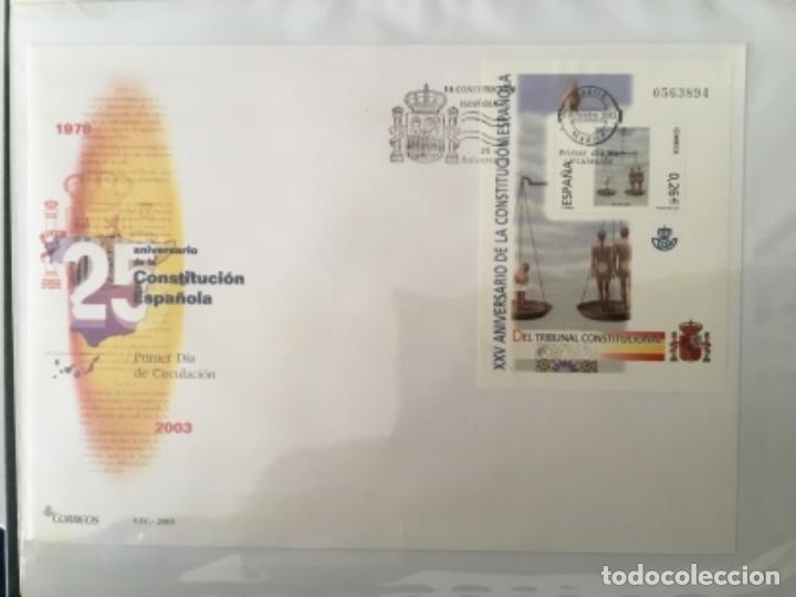 Sellos: España 2003 - Colección Sobres primer día 2003 SPD 2003 - Foto 42 - 152374050