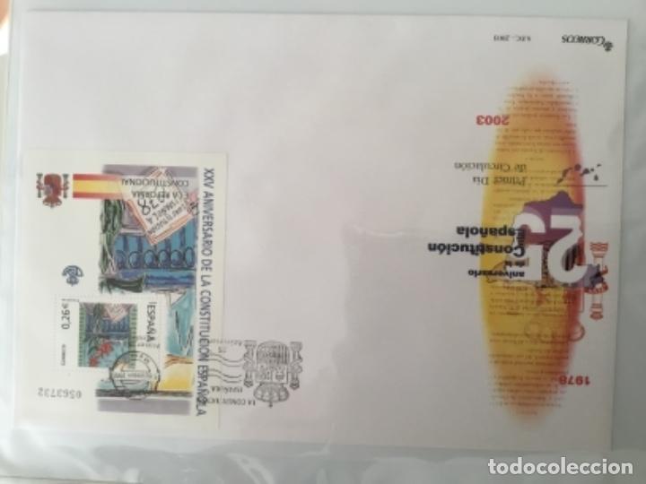 Sellos: España 2003 - Colección Sobres primer día 2003 SPD 2003 - Foto 43 - 152374050
