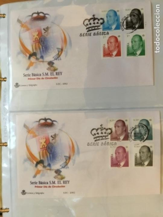 ESPAÑA 2002 - COLECCIÓN SOBRES PRIMER DÍA 2002 (Sellos - España - Juan Carlos I - Desde 2.000 - Cartas)