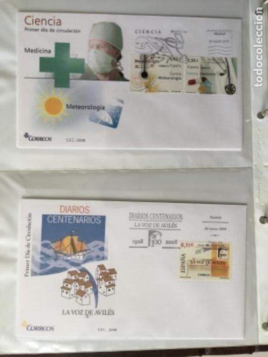 Sellos: España 2008 - Colección Sobres primer día 2008 SPD 2008 - Foto 5 - 152372942