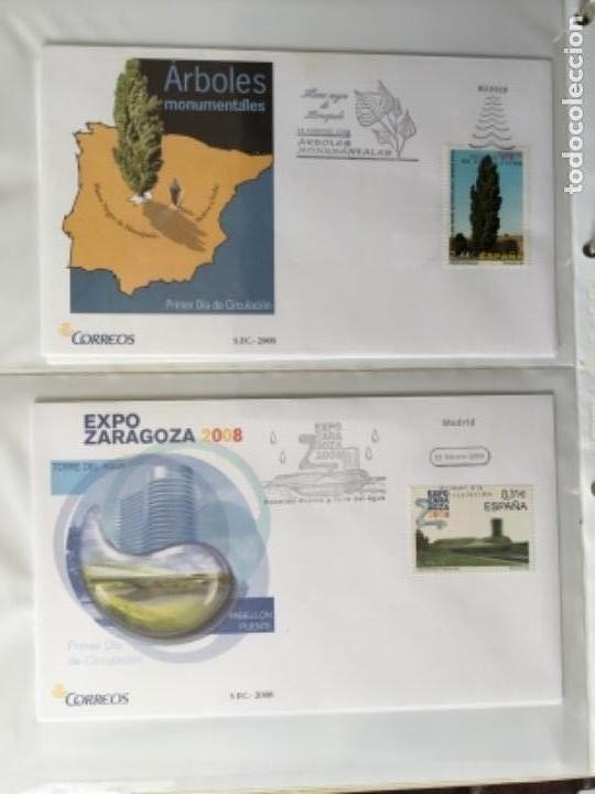 Sellos: España 2008 - Colección Sobres primer día 2008 SPD 2008 - Foto 7 - 152372942