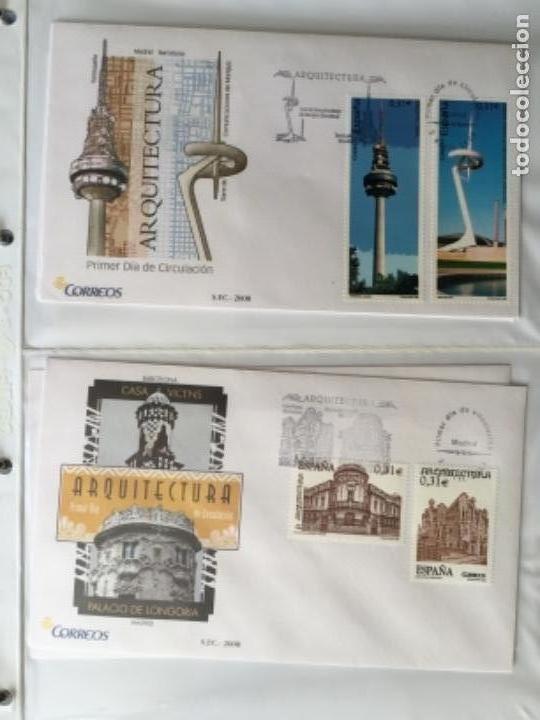 Sellos: España 2008 - Colección Sobres primer día 2008 SPD 2008 - Foto 12 - 152372942