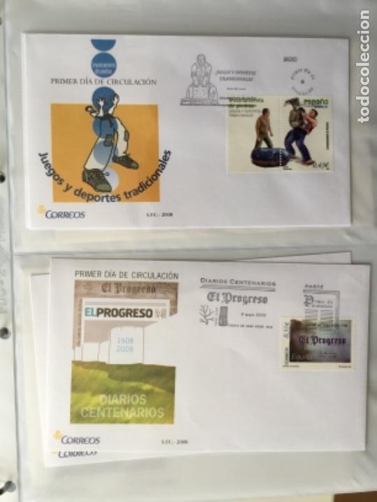 Sellos: España 2008 - Colección Sobres primer día 2008 SPD 2008 - Foto 17 - 152372942
