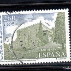 Sellos: ED Nº 3788 CASTILLOS DEL AÑO 2001 USADO. Lote 152559242
