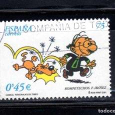 Sellos: ED Nº 3840 COMICS DEL AÑO 2001 USADO. Lote 152559818