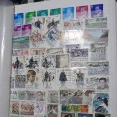 Sellos: LOTE 70 SELLOS USADOS ESPAÑA. PERIODO 1977 A 1978. DIFERENTES. 2 IMAGENES. Lote 152580402